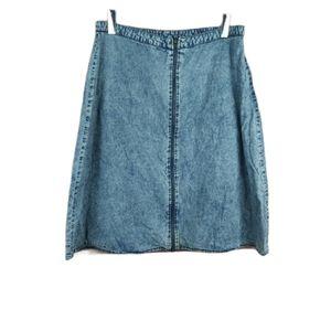📣2/36$📣 Vintage Forever 21 acid wash skirt
